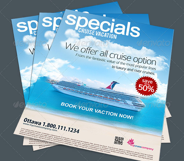 Cruise Vacation Flyer