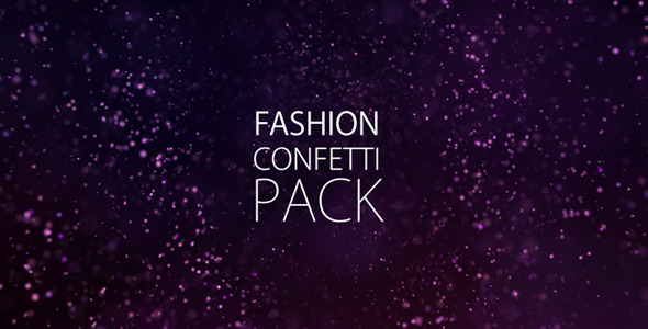 Fashion Confetti Pack