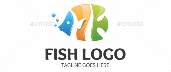 Fish Logo Logo Template