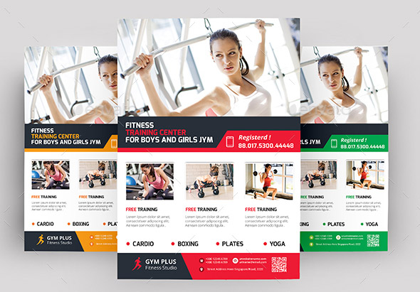 Gym Business Flyer