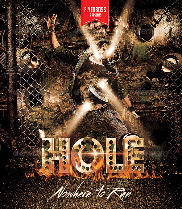 Hole Party Flyer