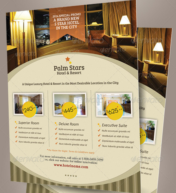 Hotel Promotion Flyer Vol