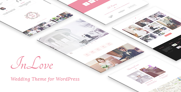 InLove Wedding Theme for WordPress