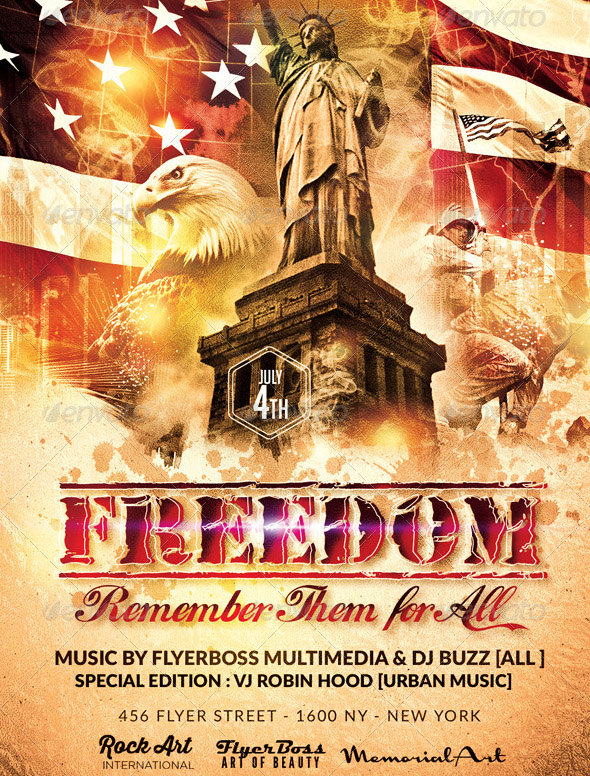 Independence Day Flyer 2