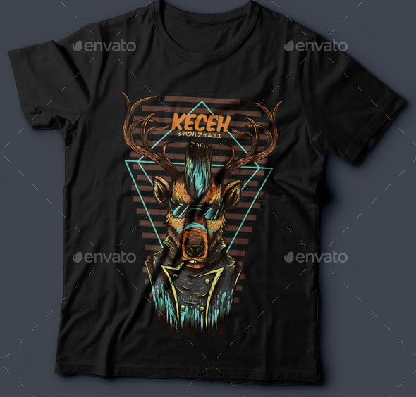 Keceh T-Shirt Design