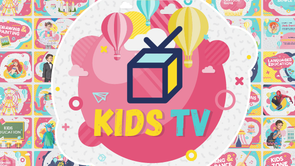 Kids Tv Broadcast Social Channel Design