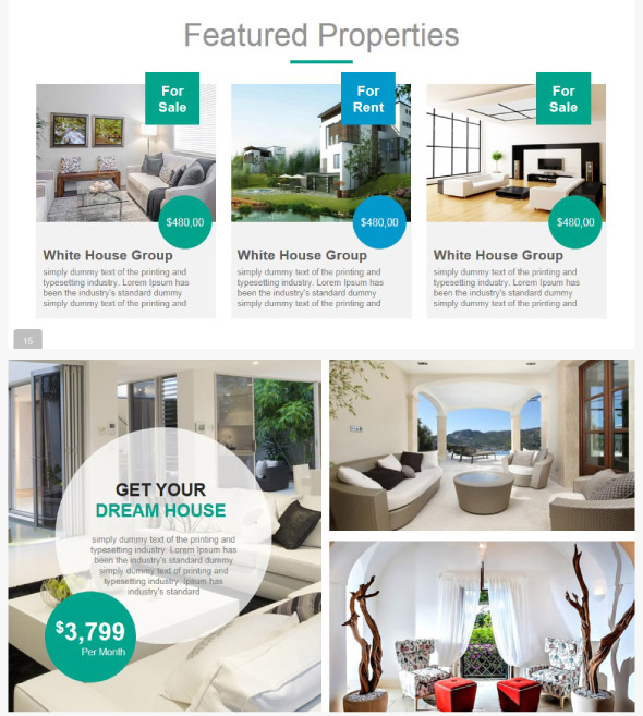 20 cool real estate powerpoint templates � desiznworld