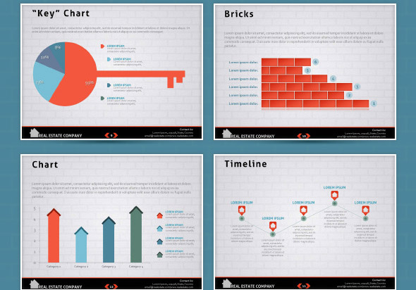 20 cool real estate powerpoint templates desiznworld