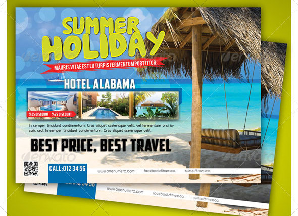 Seasons Travel Hotel Flyer