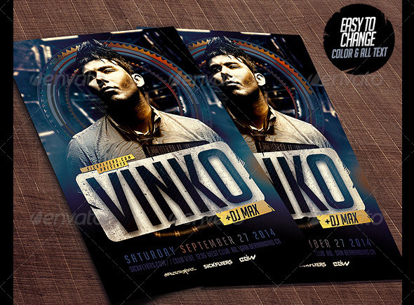 Special Guest Flyer Template PSD