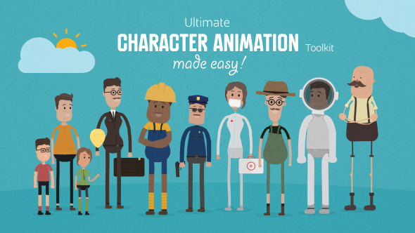 Character Design Animation Toolkit : Cool cartoon after effects templates desiznworld
