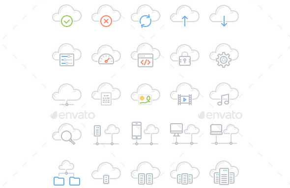 20-cloud-computing-line-icons