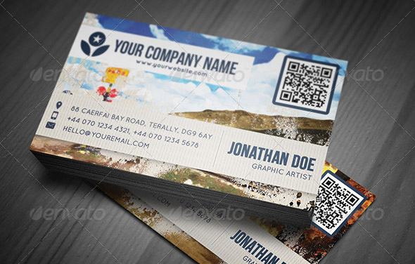Artistic Painting Business Card