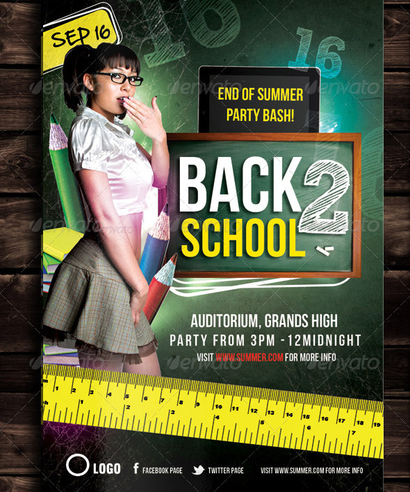 back-to-school-party-flyer
