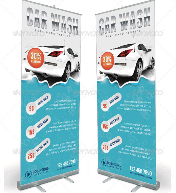 car-wash-banner-template
