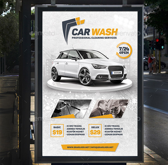 car-wash-banner-templates