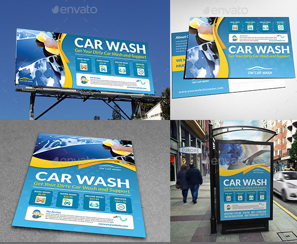car-wash-services-advertising-bundle-template