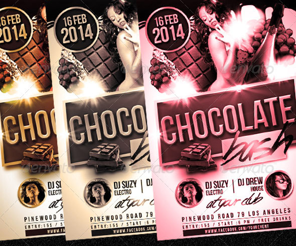 chocolate-bash-party-flyer
