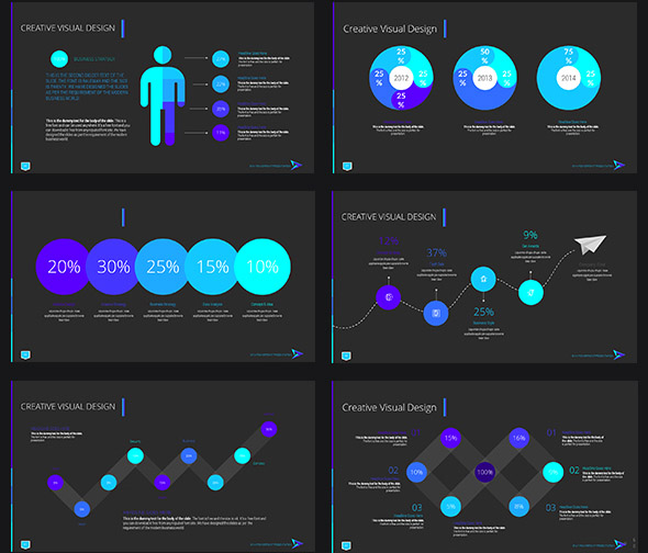 22 cool interactive powerpoint design templates – desiznworld, Modern powerpoint
