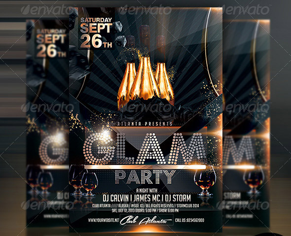 glam-party-template-flyer