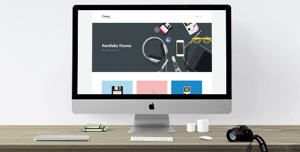Louisa WordPress Portfolio Theme