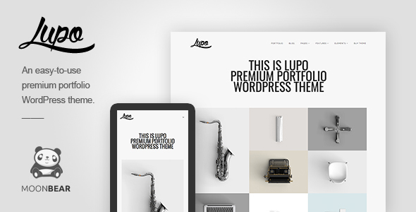 Lupo Portfolio WordPress Theme
