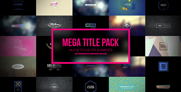 Mega Titles 4K Project