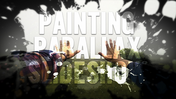 Painting Parallax Slideshow