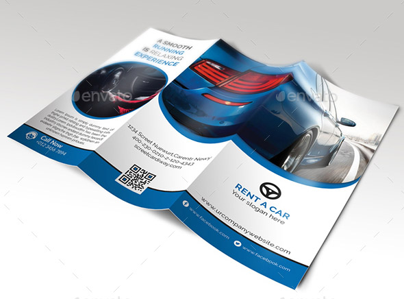 rent-a-car-tri-fold-brochure
