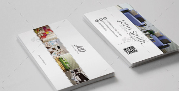 16 nice interior design business card templates desiznworld - Business name for interior design company ...