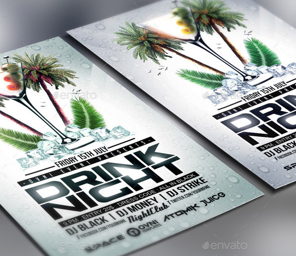 summer-drink-cocktail-night-flyer-template