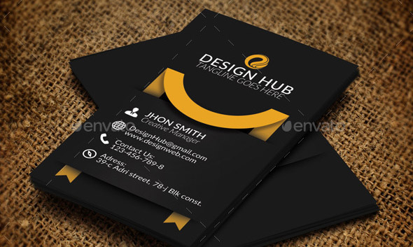 Vertical business card template kubreforic vertical business card template flashek