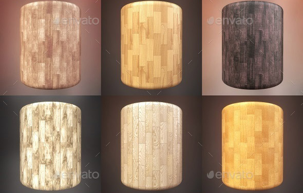 Wood Floor Plank Pack 003