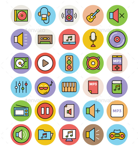 125-music-and-multimedia-icons