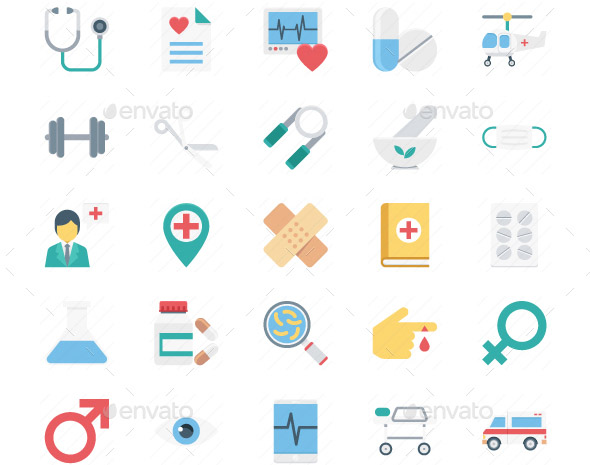 150-medical-and-health-vector-icons