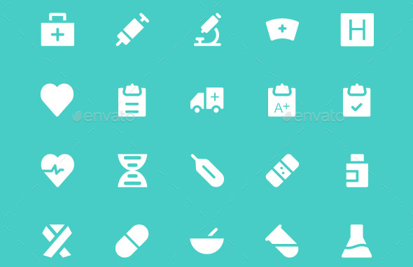 200-medical-and-health-vector-icons
