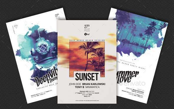 creative-sound-vol-2-party-flyer-poster-templates-bundle