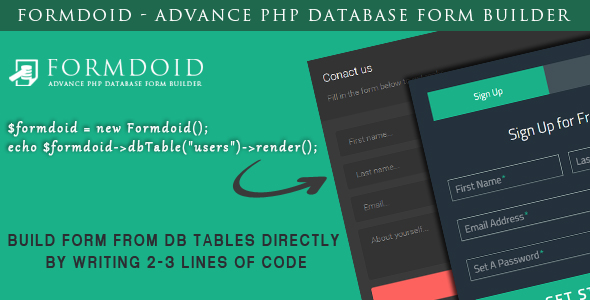 formdoid-advance-php-database-form-builder