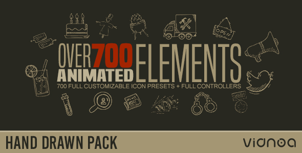 hand-drawn-elements-pack