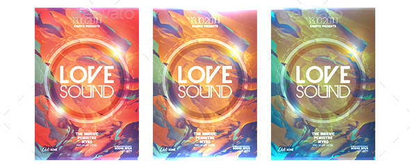 love-sound-flyer-template