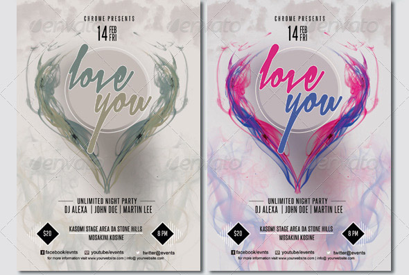 love-valentines-flyer-template