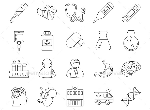 medical-outlines-vector-icons