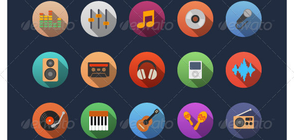 music-flat-icons