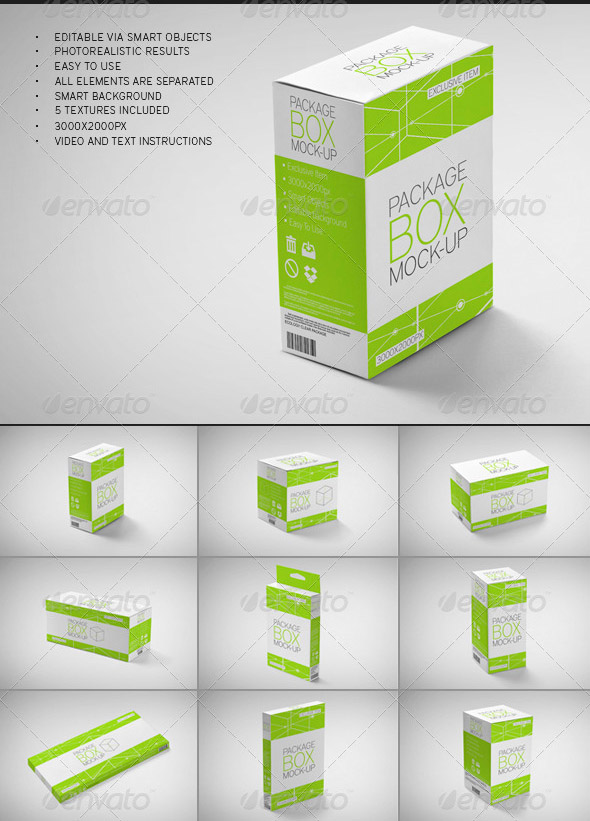 package-box-mock-up