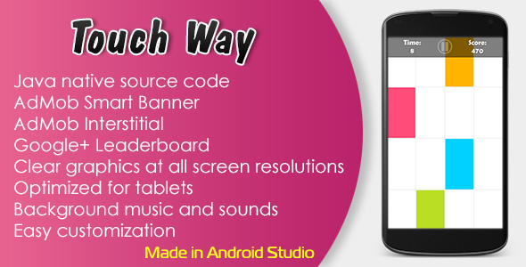 touch-way-with-admob-and-leaderboard