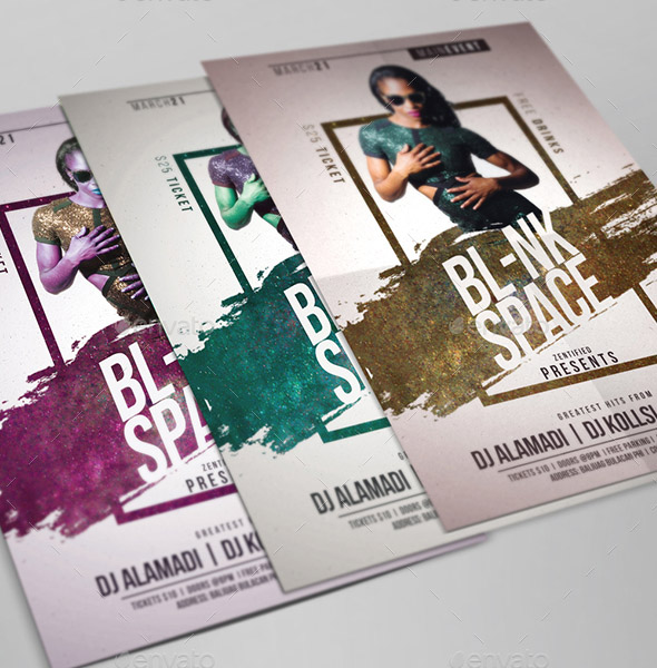 blank-space-event-flyer