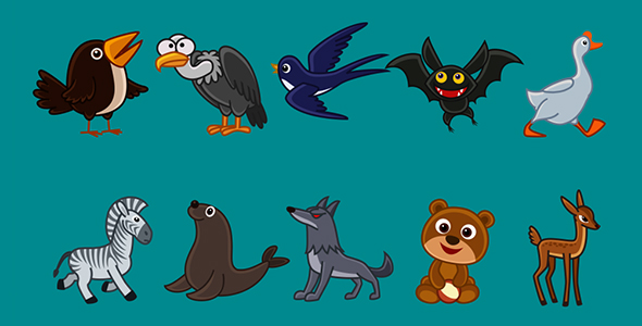 cartoon-animals-animation-pack-5