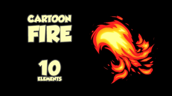 cartoon-fire-10-elements