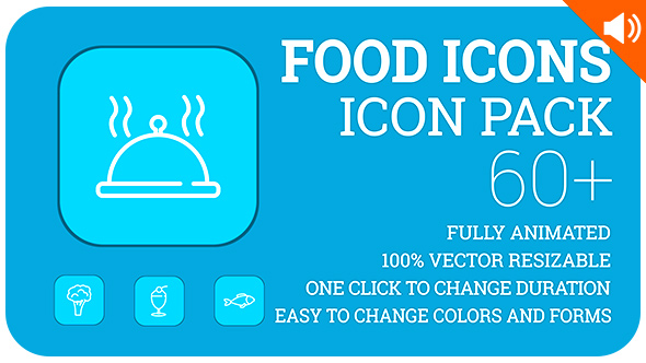 food-icons-lineout-icon-pack