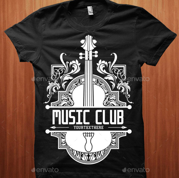 31 Cool Music T-shirt Design Templates – Desiznworld